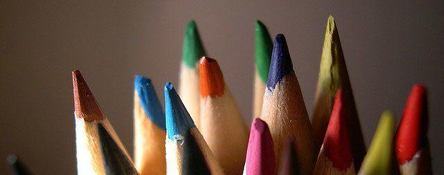 Pastelky pro tvorbu myšlenkových map