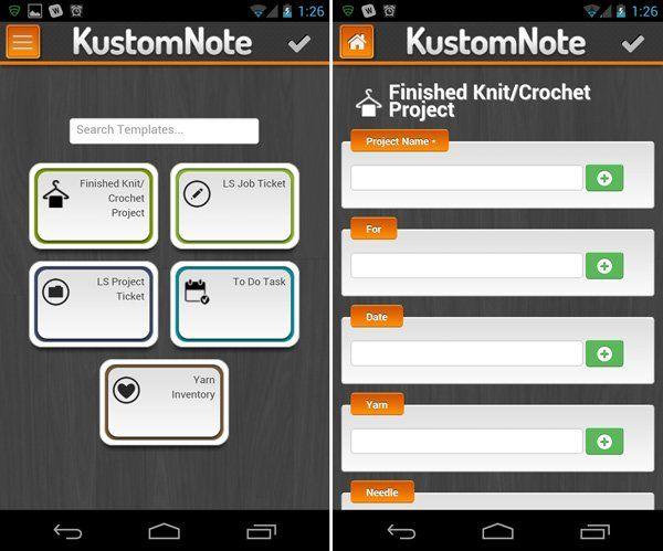 KustomNote pro Android