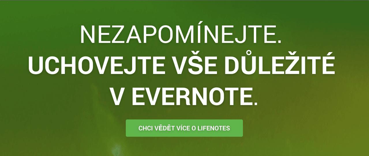 Evernote s LifeNotes