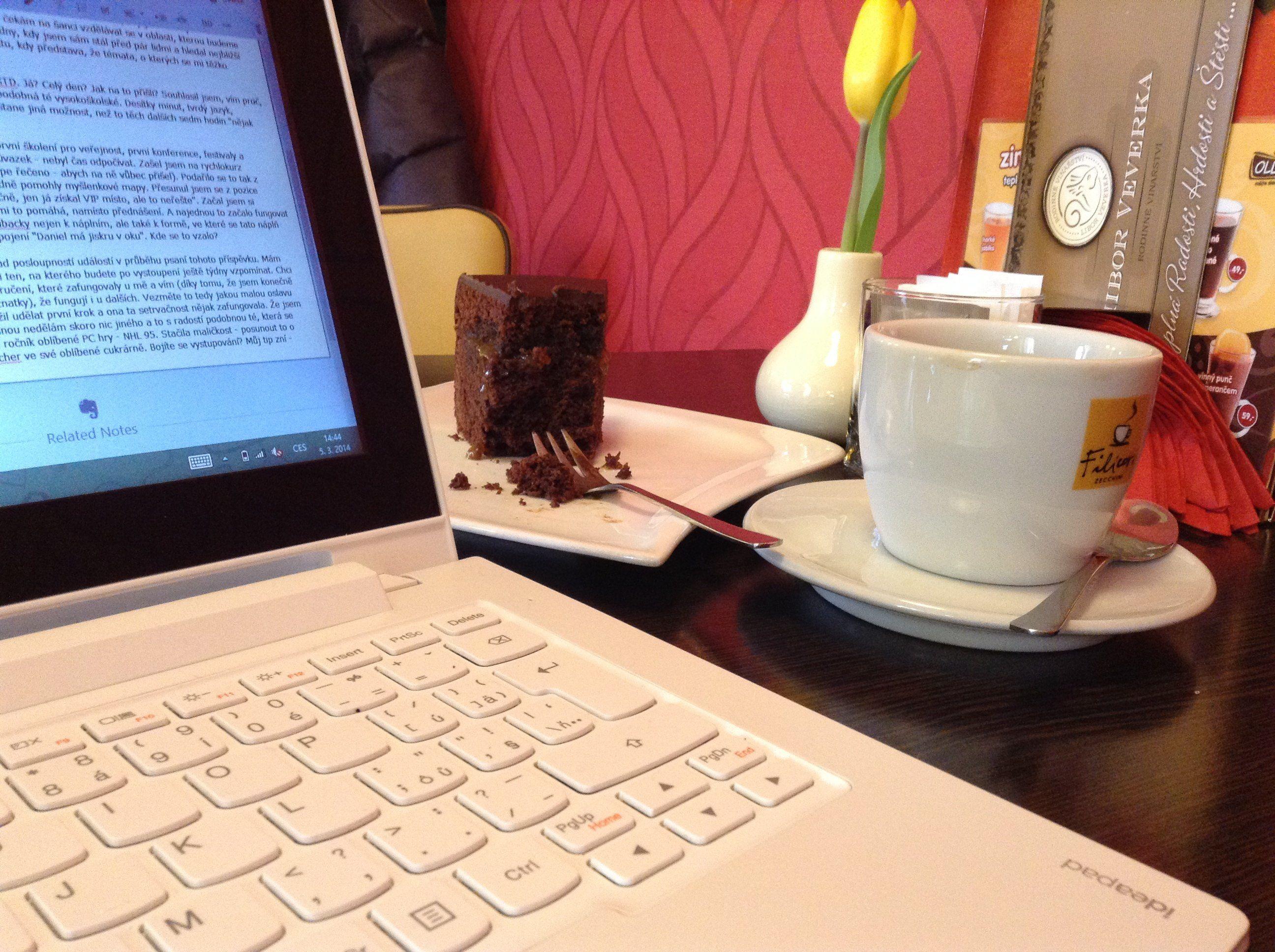 Káva a sacher