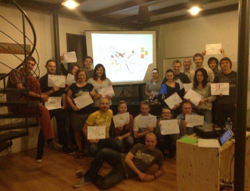 Workshop o plánování dovolené v myšlenkových mapách
