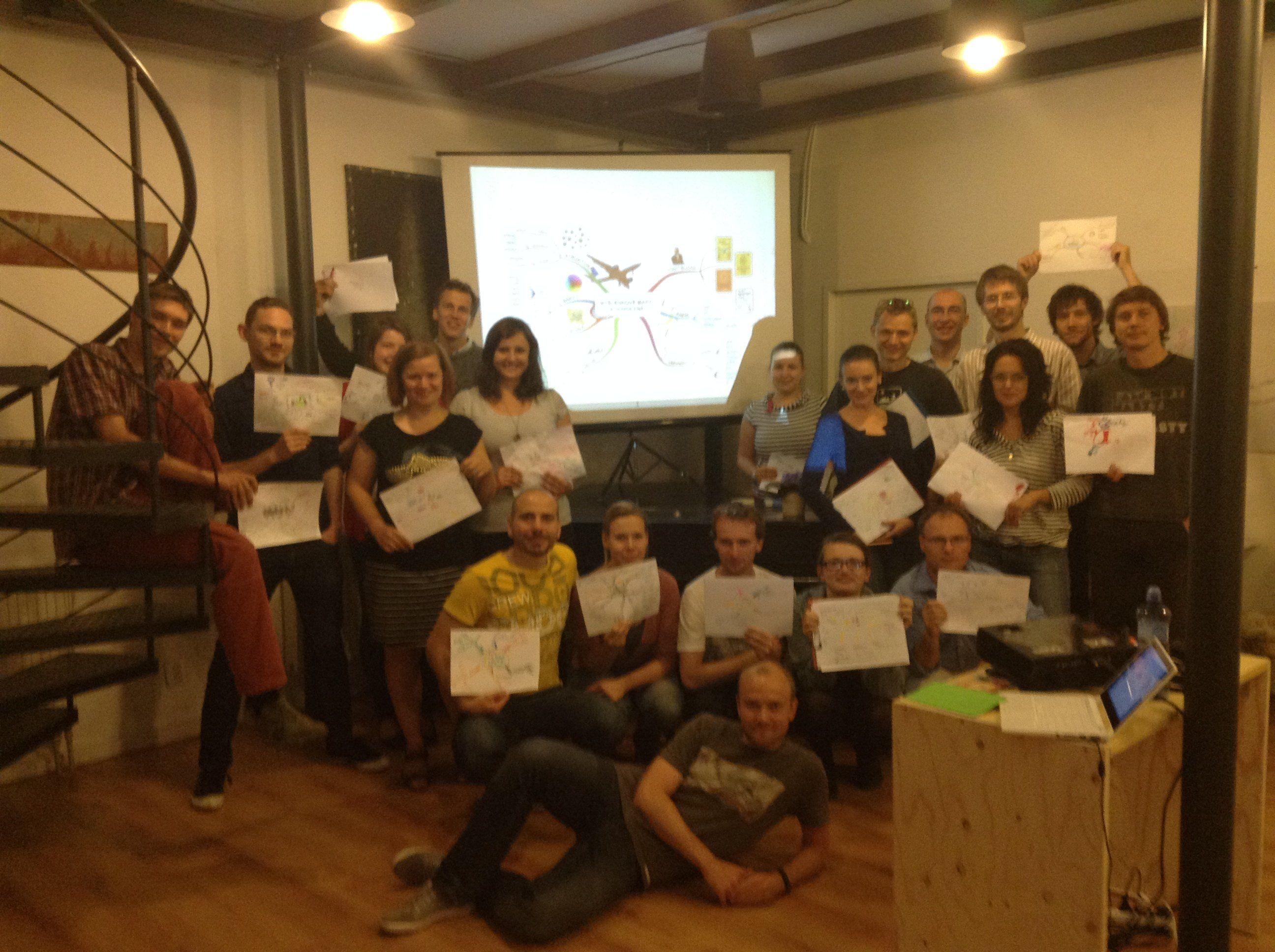 Workshop Myšlenkové mapy