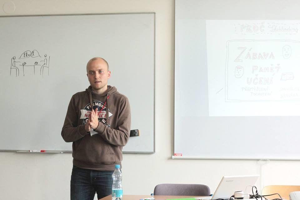 Kurz Sketchnotes na Naučmese Festu
