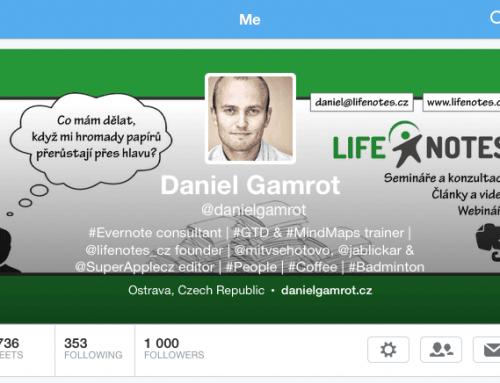 1000 followerů na Twitteru a seminář zdarma
