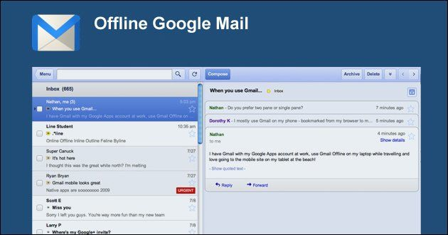 Gmail Offline