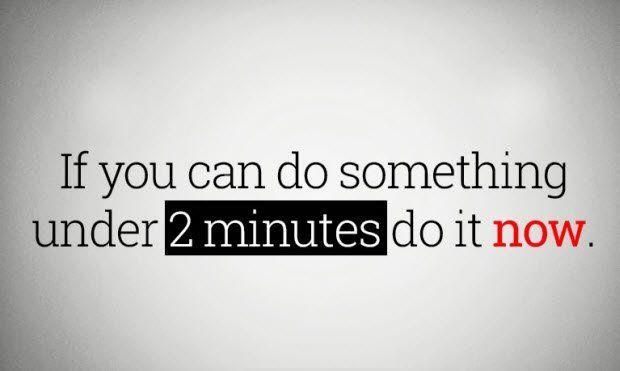 Pravidlo 2 minut