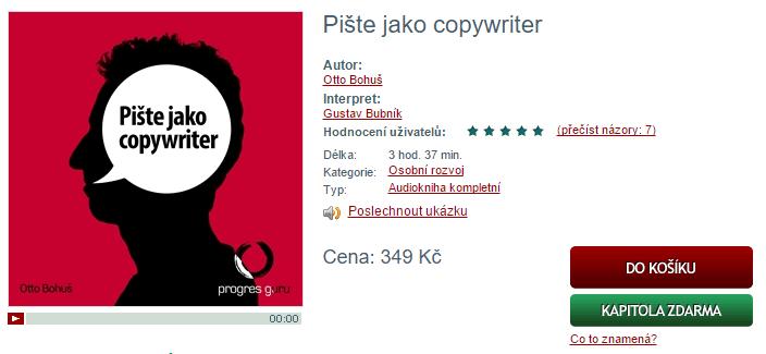 Pište jako copywriter - audiokniha