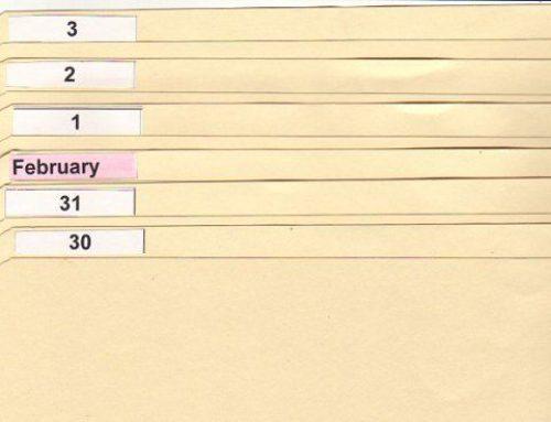Pročistěte seznamy úkolů s termínovým pořadačem